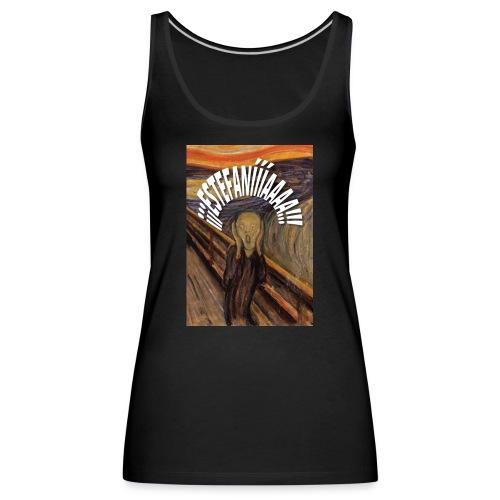 Estefanía El Grito - Camiseta de tirantes premium mujer