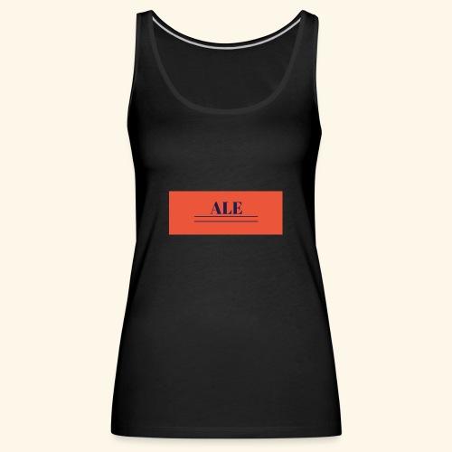 maglia con nome - Canotta premium da donna