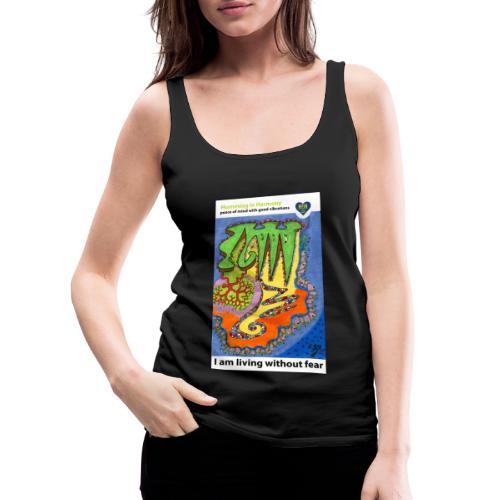 Threat - Camiseta de tirantes premium mujer