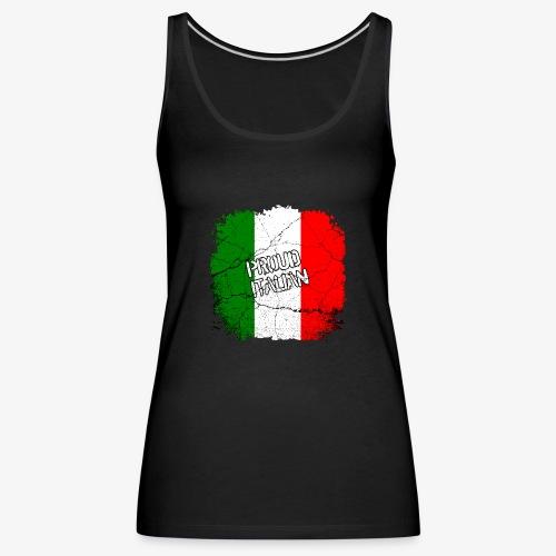 Proud Italian Stolzer Italiener Italienerin - Frauen Premium Tank Top