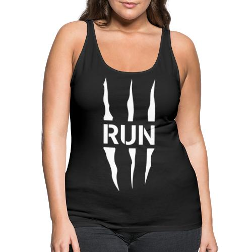 Run Scratch - Débardeur Premium Femme