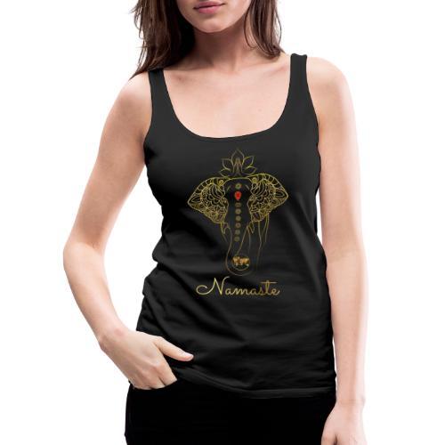 RUBINAWORLD - Namaste - Women's Premium Tank Top