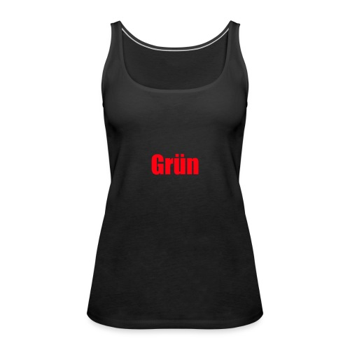 Grün - Frauen Premium Tank Top