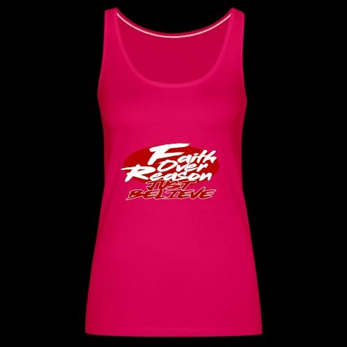 OVER REASON - Camiseta de tirantes premium mujer