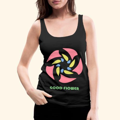 GOOD FLOWER - Camiseta de tirantes premium mujer