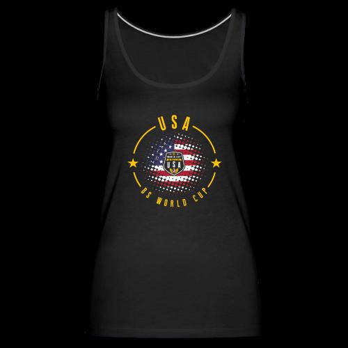 USA - SHIELD OF THE BS WORLD CUP - Camiseta de tirantes premium mujer
