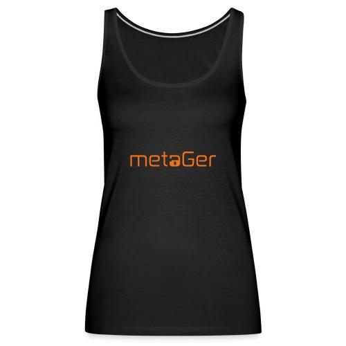 Original metaGER - Frauen Premium Tank Top