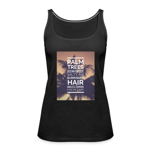 Palm shirts - Frauen Premium Tank Top