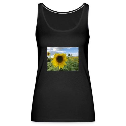 Sonnenblume - Premiumtanktopp dam
