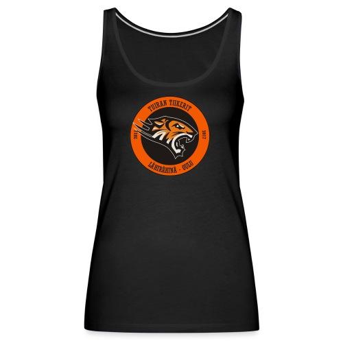 Tuiran Tiikerit, värikäs logo - Naisten premium hihaton toppi