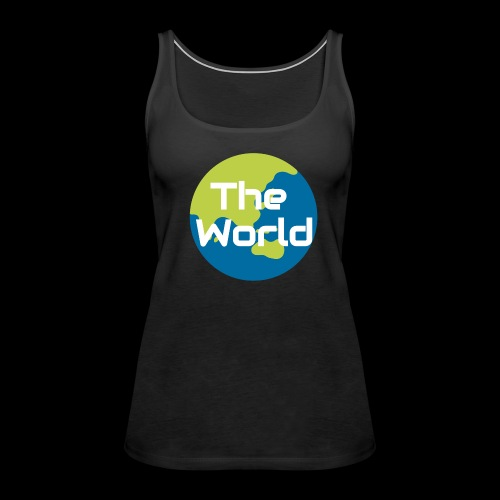 The World Earth - Dame Premium tanktop