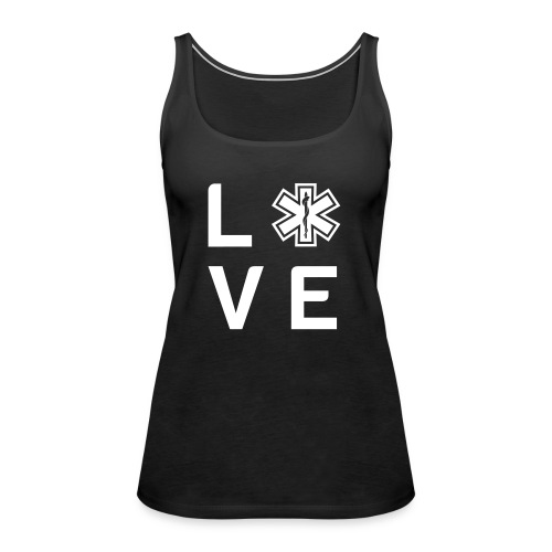 Retter Love Small - Frauen Premium Tank Top