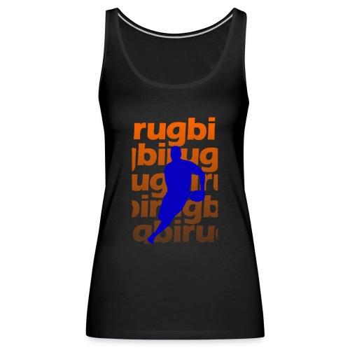 Silueta rugbi home - Camiseta de tirantes premium mujer