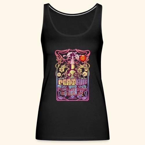 Whisky T Shirt Peatnik für Whiskykenner - Frauen Premium Tank Top