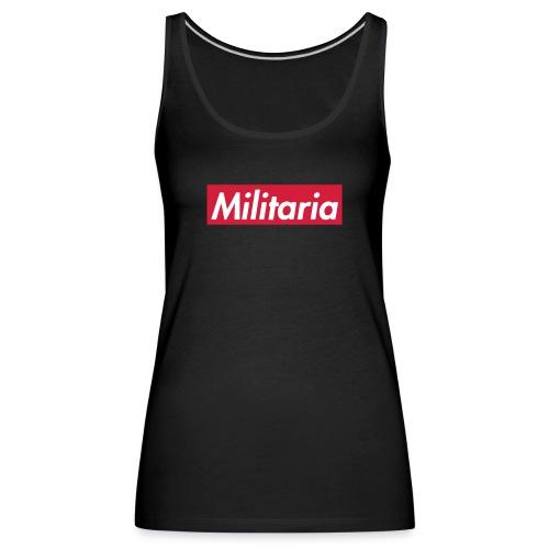Militaria Rouge - Débardeur Premium Femme
