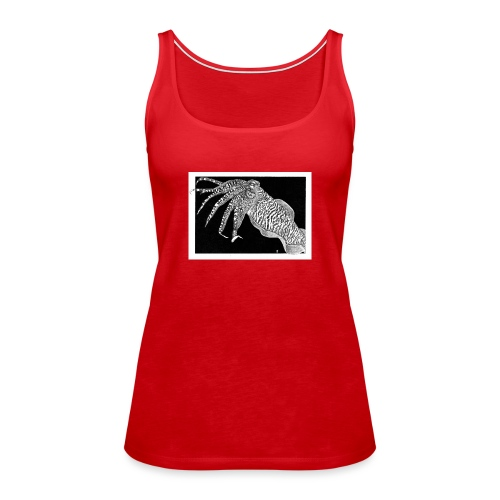 Cuttlefish - Women's Premium Tank Top