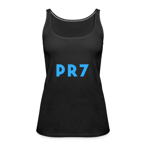 SpaceBlueAvatar2 - Women's Premium Tank Top