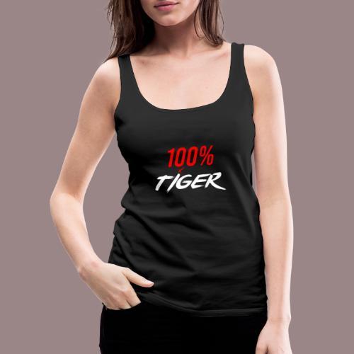 100% Tiger - Dame Premium tanktop