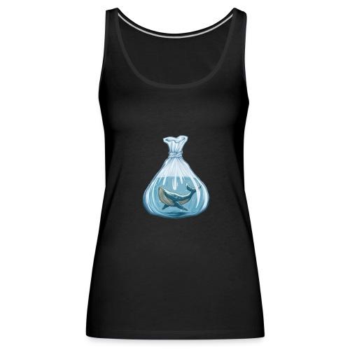 Whale - Camiseta de tirantes premium mujer