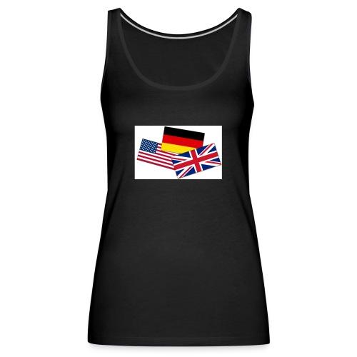 Englisch_Deutsch_Unterhaltung_Prod - Frauen Premium Tank Top