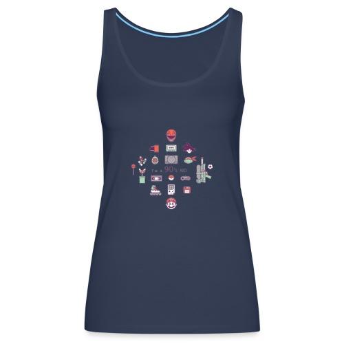 lo mejor de los 90 - Camiseta de tirantes premium mujer