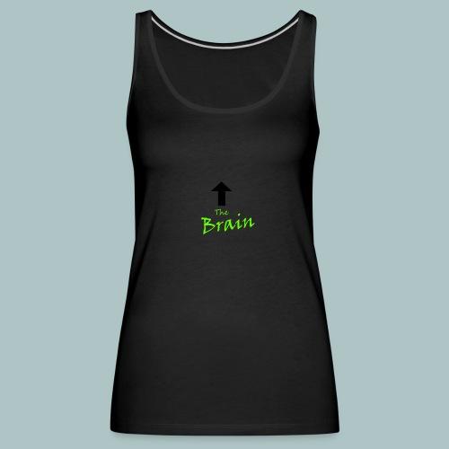 The Brain - Frauen Premium Tank Top
