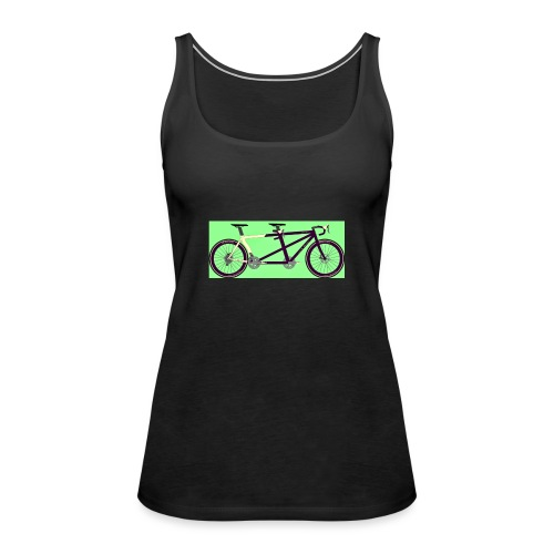 Llum Design 2RDisc Tandem BikeCAD - Vrouwen Premium tank top
