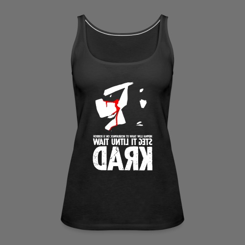 horrorcontest sixnineline - Tank top damski Premium