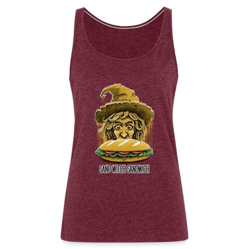 Sand Witch Sandwich V1 - Women's Premium Tank Top