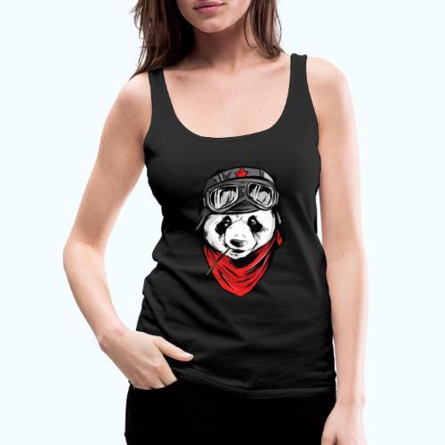 Panda pilot - Women's Premium Tank Top
