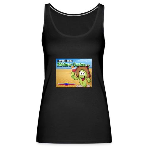 Medano Cactus - Camiseta de tirantes premium mujer