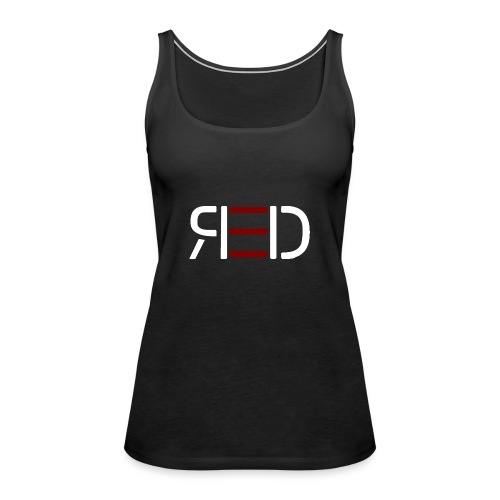 RED White Edition - Frauen Premium Tank Top