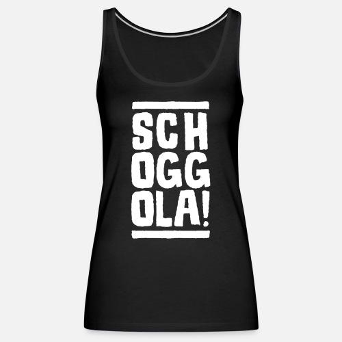 Schoggola! - Frauen Premium Tank Top