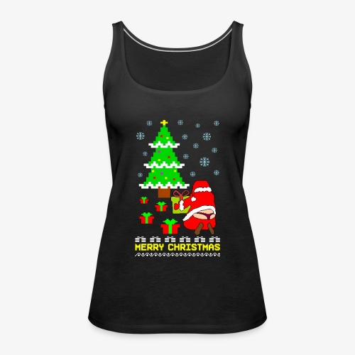 Merry Christmas Santa Tanga Ugly Xmas - Frauen Premium Tank Top
