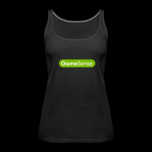 Clothing with green gamesense.pub - logo - Women's Premium Tank Top