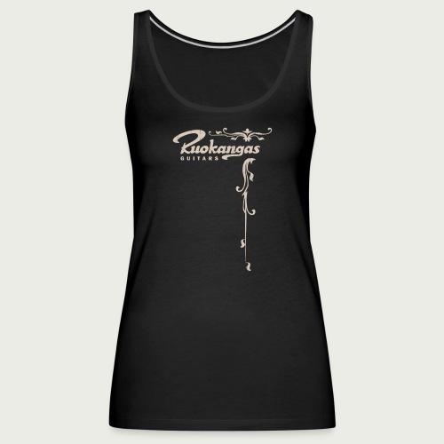 Vintage t shirt front - Women's Premium Tank Top