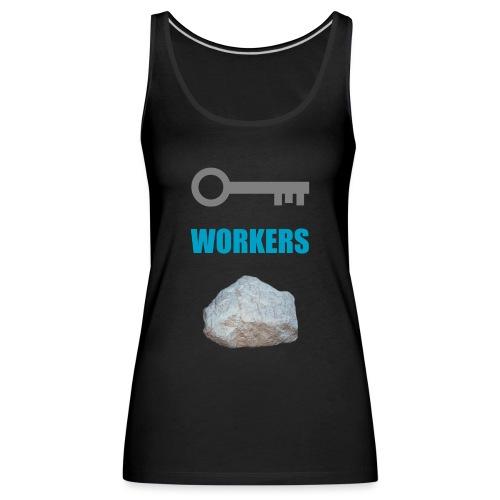 Key Workers Rock - Women's Premium Tank Top
