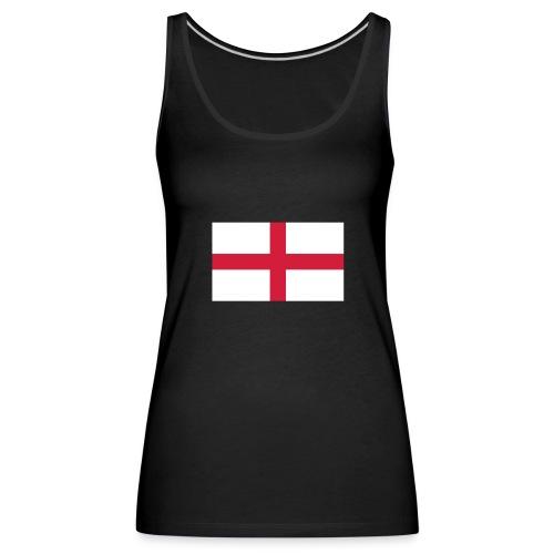 Bandera de Inglaterra / Color personalizable - Women's Premium Tank Top