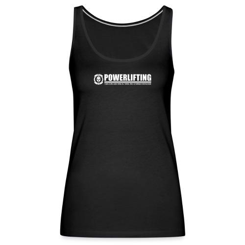 Legion Clothing | Powerlifting - Naisten premium hihaton toppi