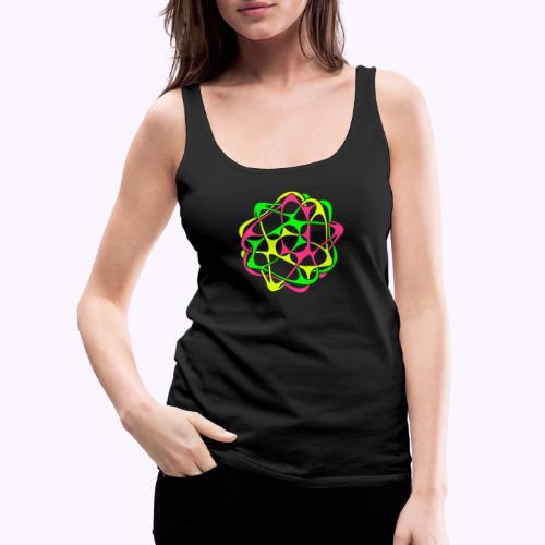 Cyber Twister 1 - Camiseta de tirantes premium mujer