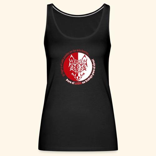 LOBO - Camiseta de tirantes premium mujer