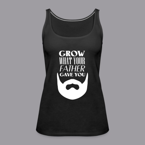 Father Beard W - Frauen Premium Tank Top