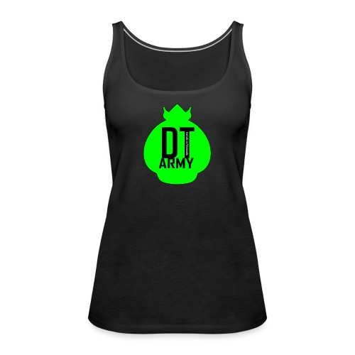 DT ARMY GREEN - Frauen Premium Tank Top