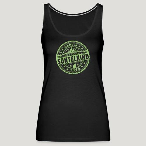 SÜNTELKIND 1966 - Das Süntel Shirt mit Süntelturm - Frauen Premium Tank Top