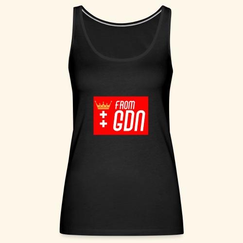 #fromGDN - Tank top damski Premium