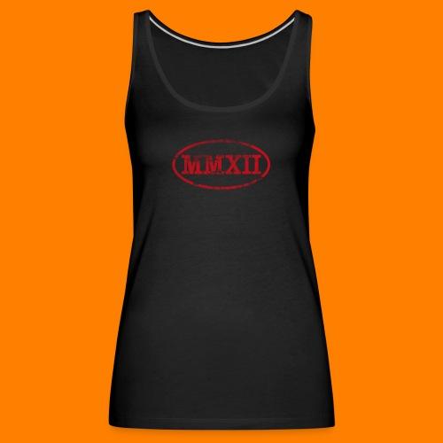 MMXII grungie - Women's Premium Tank Top