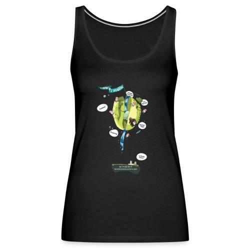 T-shirt Maison de L'aventure - Débardeur Premium Femme