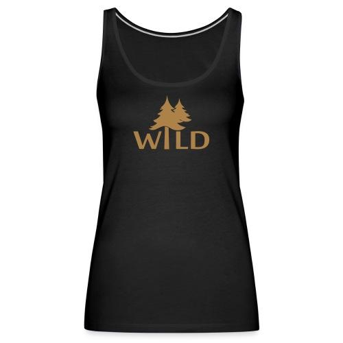 Wild - Frauen Premium Tank Top
