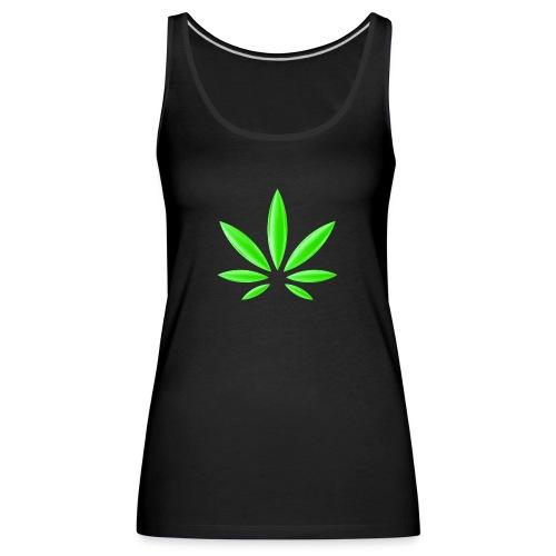 T-Shirt Design für Cannabis - Frauen Premium Tank Top