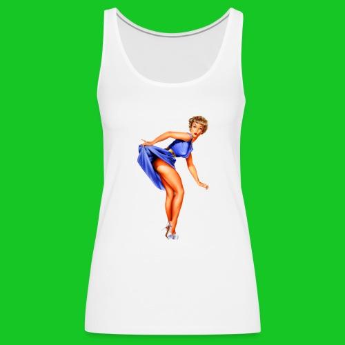 pin up girl 2 - Vrouwen Premium tank top